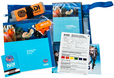 PADI Advanced Open Water Diver Kursunterlagen