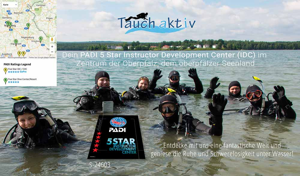 PADI Five Star Instructor Development Center (IDC)