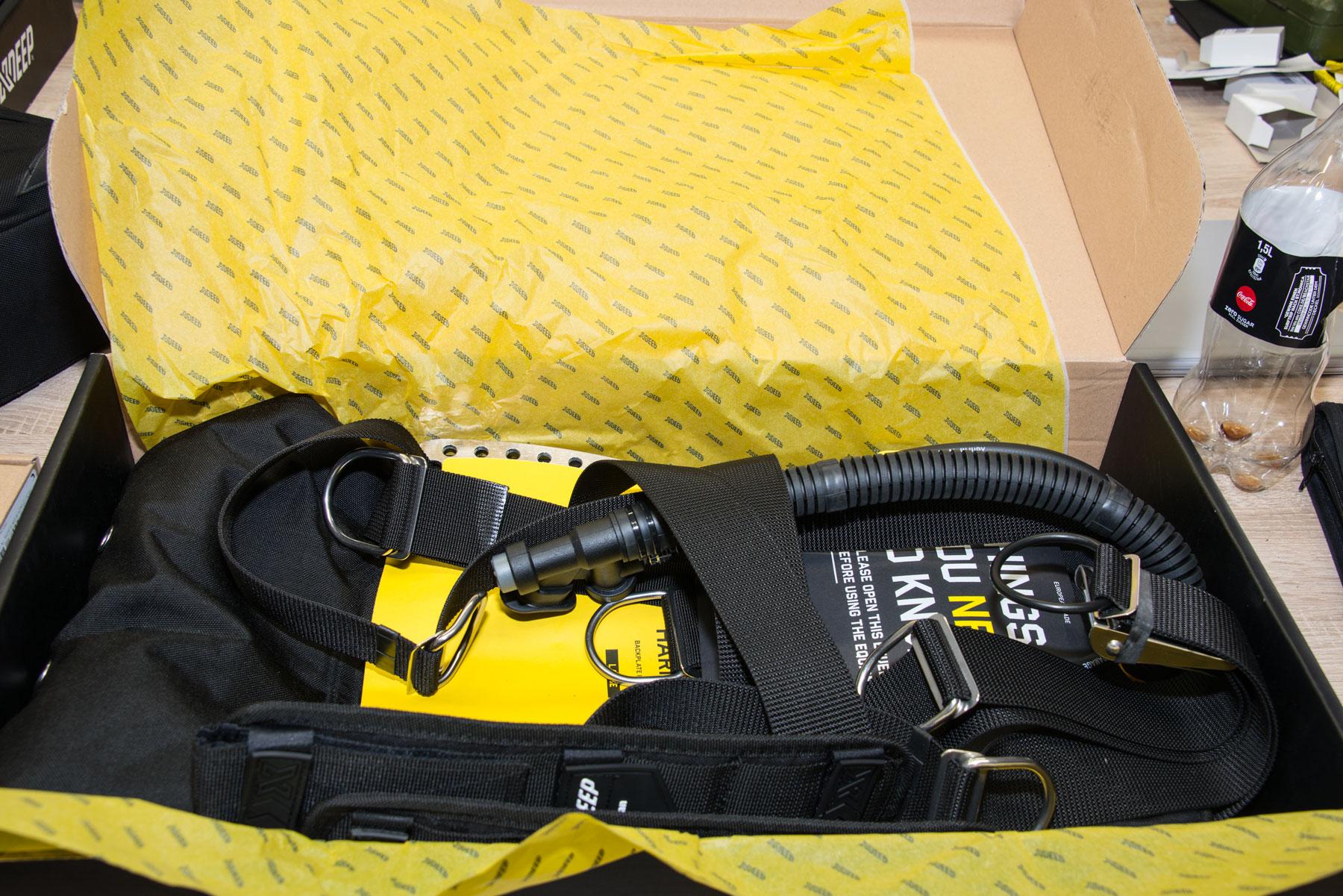 Tec Ausrüstung Harness und Wing