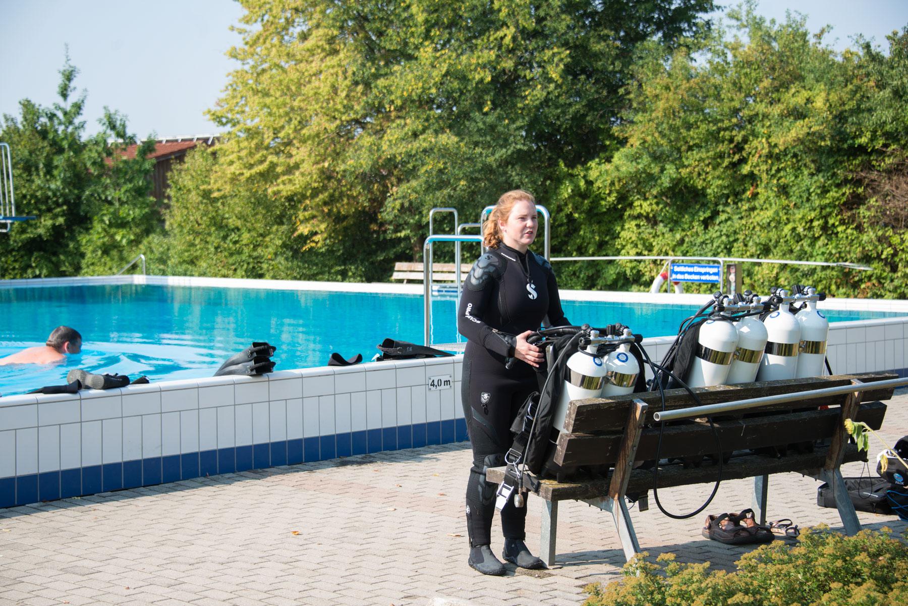 PADI Tec 40 Diver mit Tauch aktiv